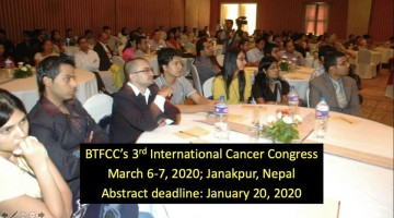 BTFCC's 3rd International Cancer Congress